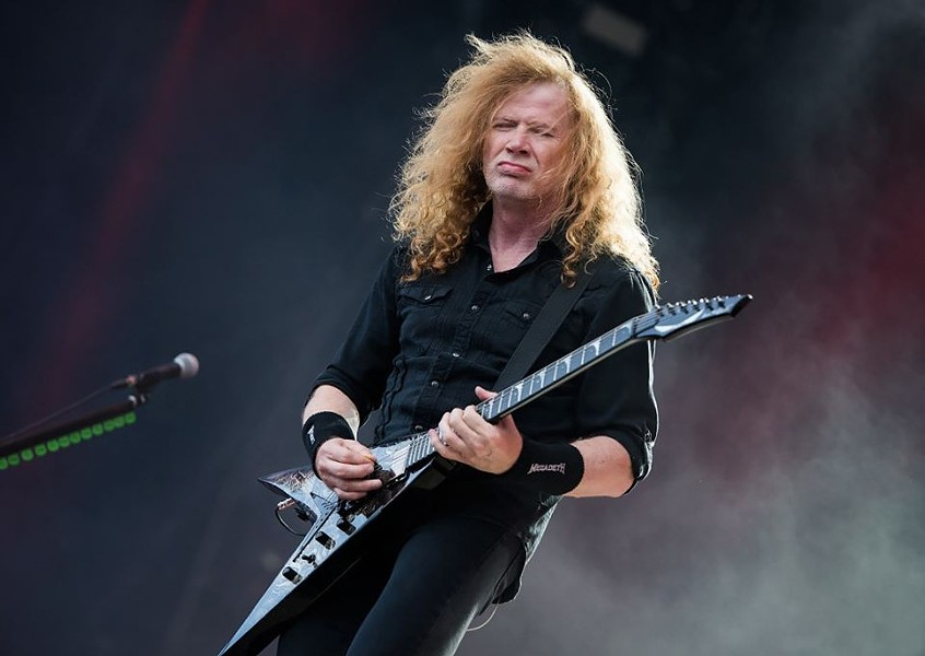 FACEBOOK / DAVE MUSTAINE