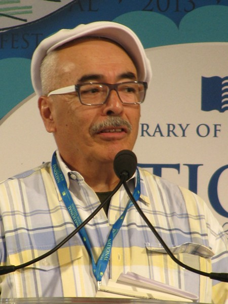 Juan Felipe Herrera, new U.S. Poet Laureate. - WIKIMEDIA COMMONS