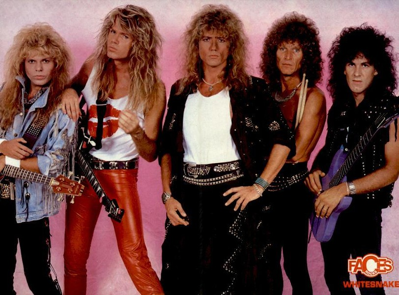 A hole in the ozone layer called Whitesnake - COURTESY