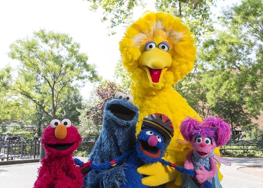 Sesame Street had big news yesterday. - SESAME WORKSHOP/RICHARD TERMINE