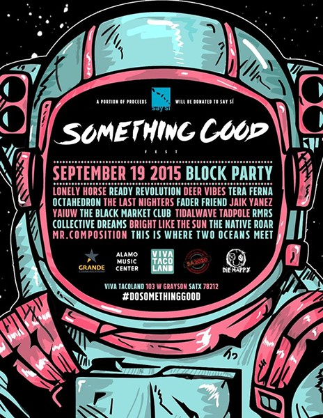 Something Good Fest poster - FACEBOOK