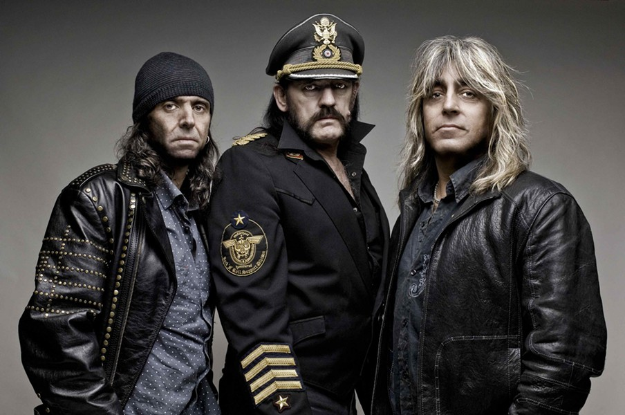 Motörhead looking better than ever - COURTESY
