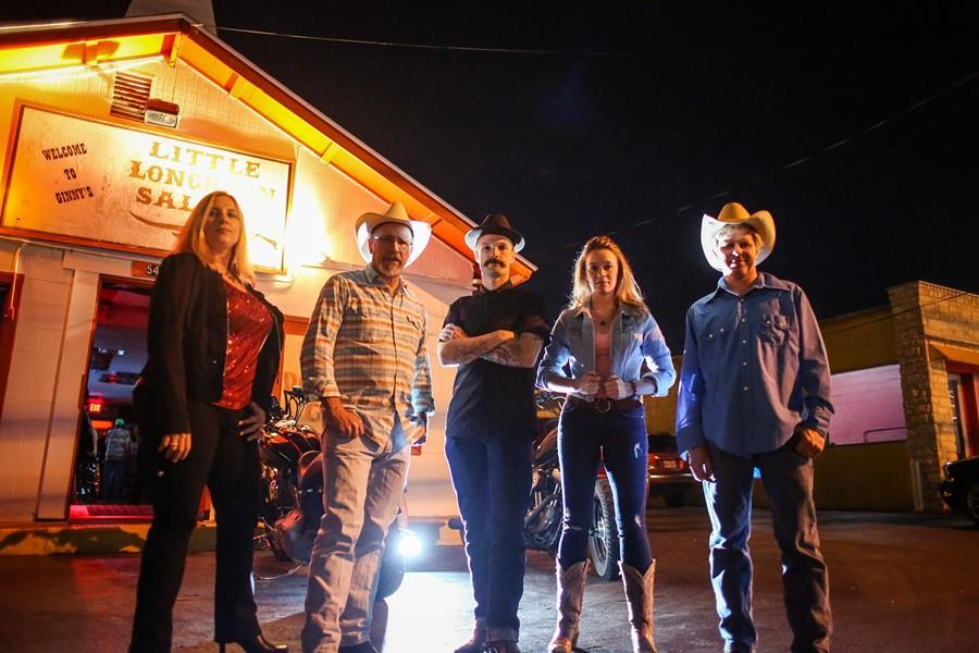 The Hot Texas Swing Band - COURTESY