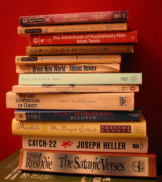 15 books were challenged or banned in Texas during the 2014-2015 school year. - ANIRVAN (FLICKR CREATIVE COMMONS)