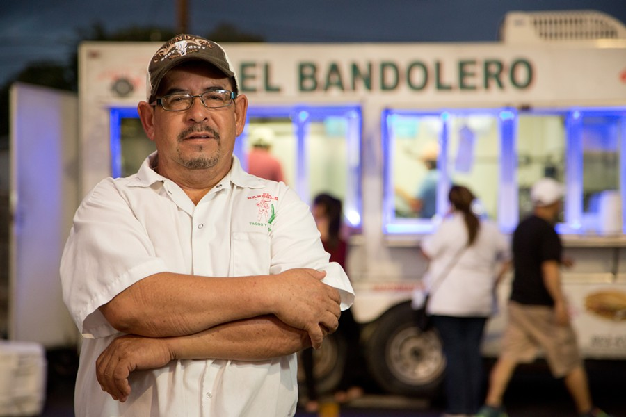 Regino Soriano is one of the plaintiffs in a case challenging San Antonio's food truck laws. - COURTESY INSTITUTE FOR JUSTICE