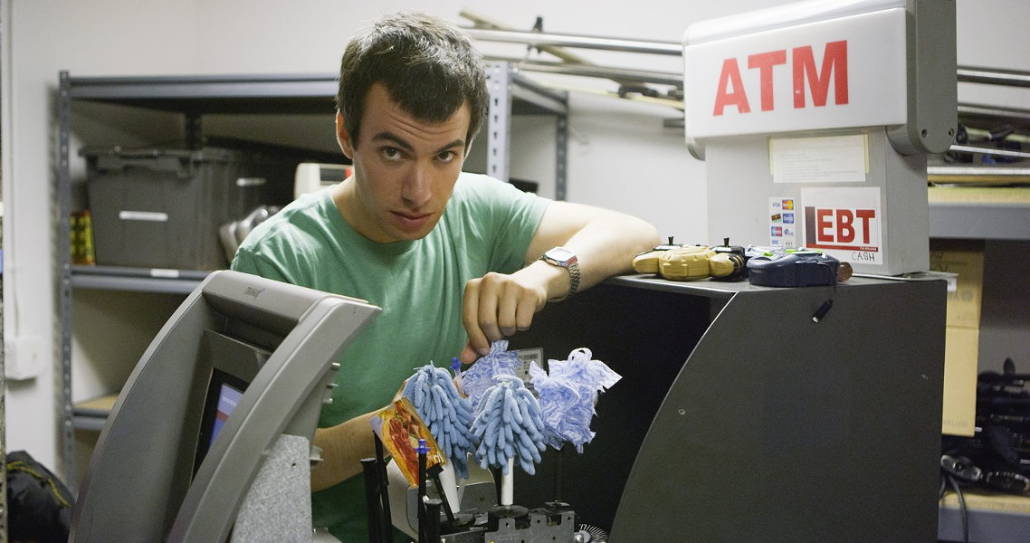 Comedian Nathan Fielder hasn't faced the Borat conundrum — yet. - COURTESY