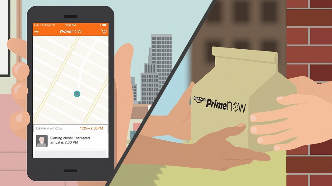 Amazon Prime Now is available in San Antonio. - AMAZON