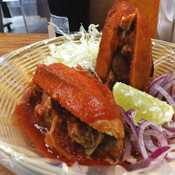 The tortas at Ro-Ho Pork & Bread are for those who aren't afraid to get messy. - COURTESY