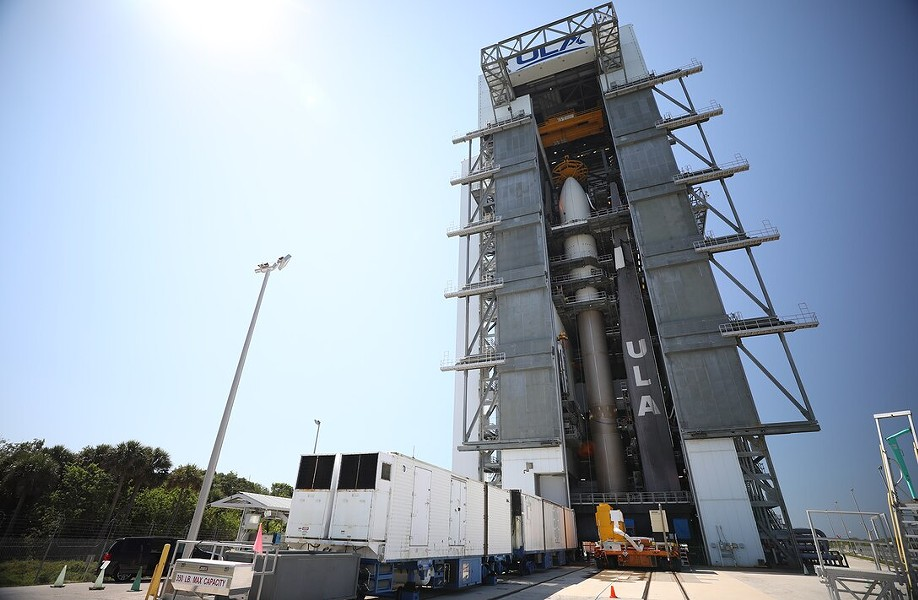 U.S. Space Force-7 mission, stacked Atlas 5. - U.S. SPACE COMMAND