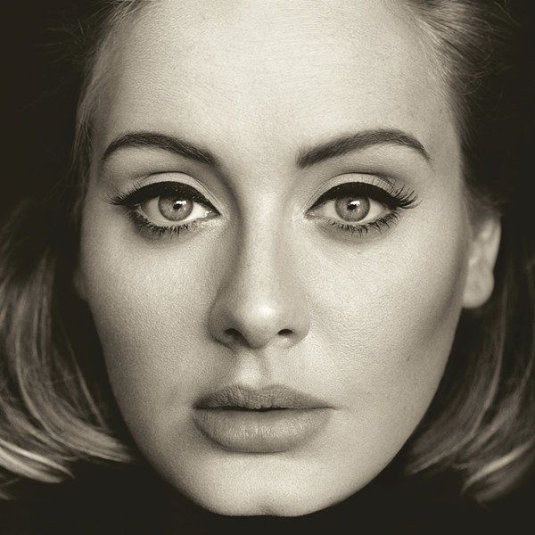 Adele, whose Nov. 20 released album 25 was the highest selling record of 2015 - COURTESY