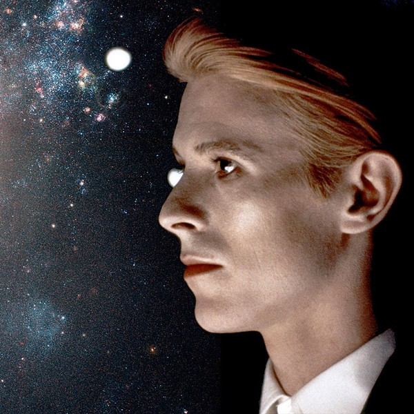Bowie ponders the infinite - VIA FACEBOOK