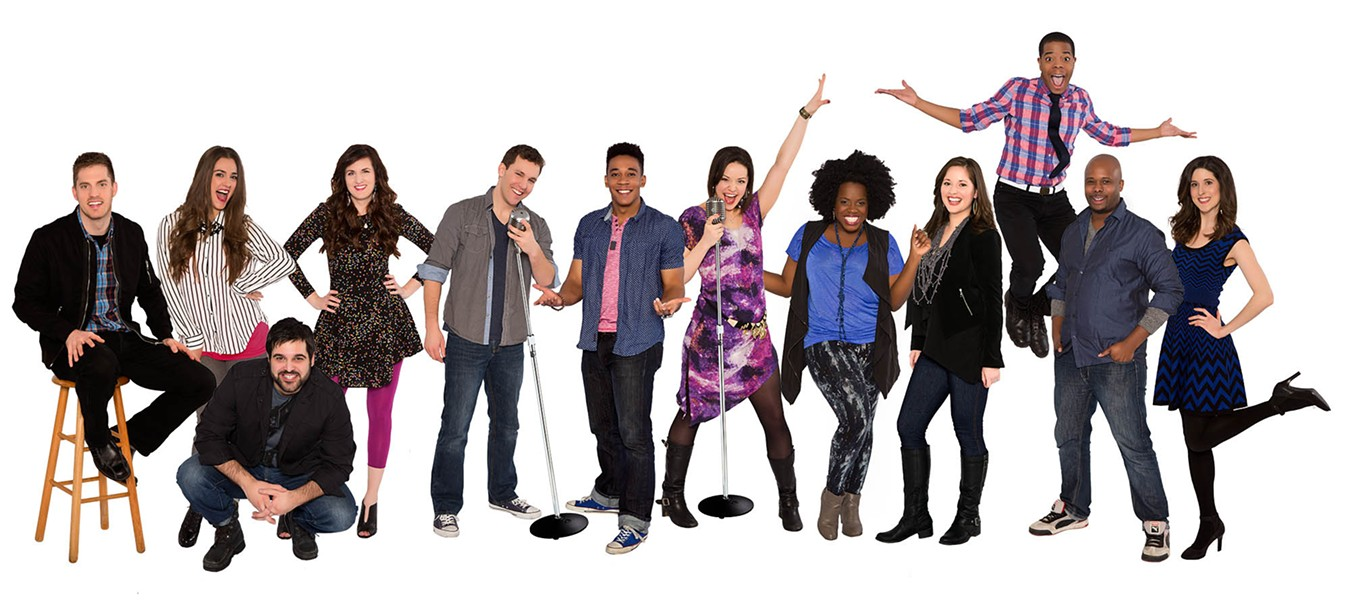Vocalosity cast - COURTESY