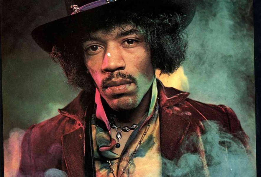 Jimi Hendrix - COURTESY