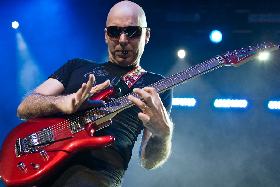 Joe Satriani - COURTESY