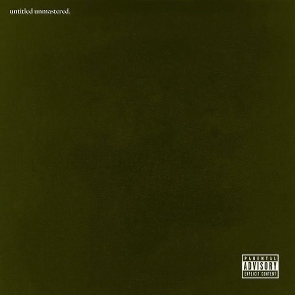 The cover of untitled unmastered. - COURTESY