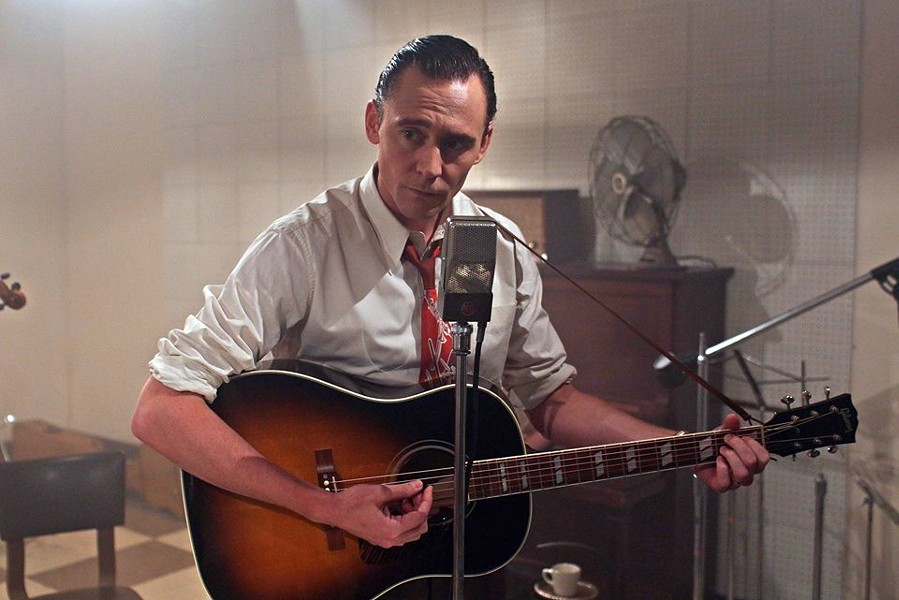 Tom Hiddleston as the King of Country, Hank Williams. - COURTESY