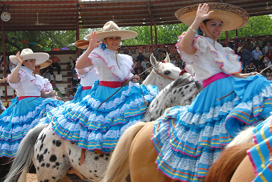 COURTESY OF ASOCIACIÓN DE CHARROS DE SAN ANTONIO