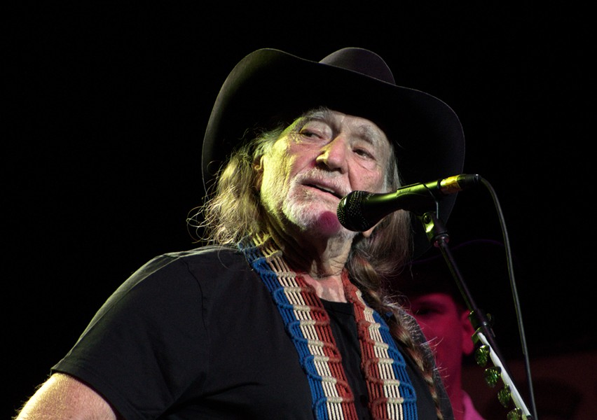 Nelson is rumored to play at WhiteWater Amphitheater with Neil Young tonight. - WIKIPEDIA