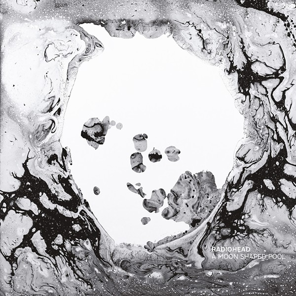 The cover to A Moon Shaped Pool - COURTESY