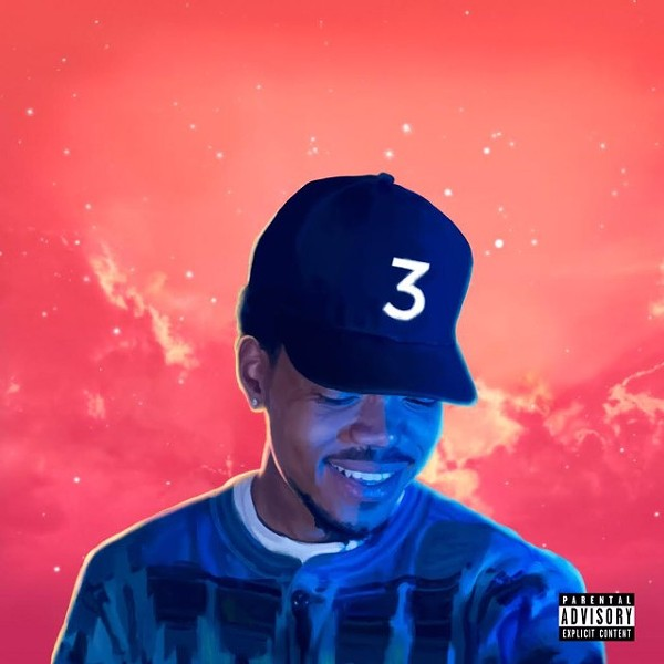 The cover to Chance the Rapper's Coloring Book - FACEBOOK