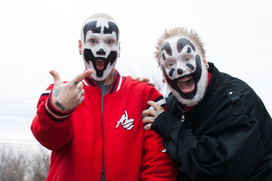 Insane Clown Posse - COURTESY OF INSANE CLOWN POSSE'S FACEBOOK PAGE