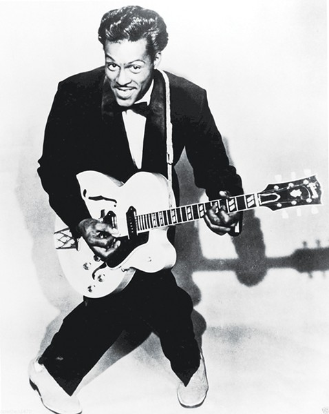 ROCK 'N' ROLL ICON CHUCK BERRY
