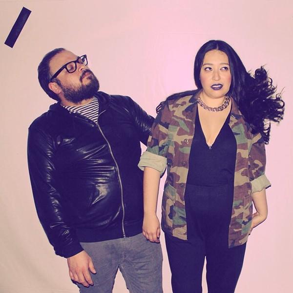 Daecos Omoxi and Kimberly Cardenas of Calico Club - VIA FACEBOOK (COURTESY OF WAYNE HOLTZ)