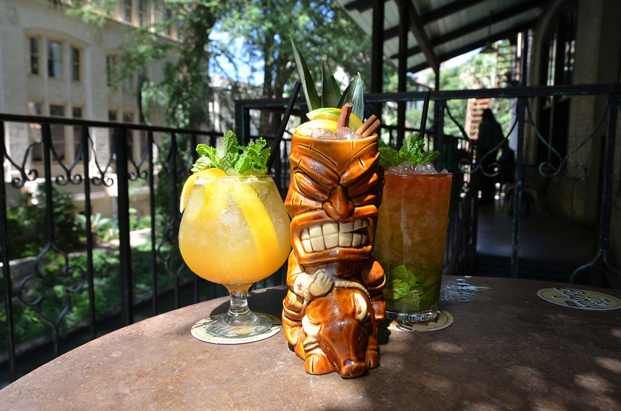 Sidewinder's Fang, Pago Pago and Queen's Park Swizzle