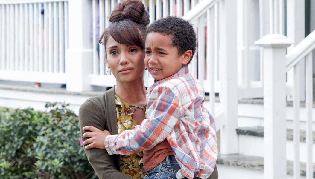 Marycarmen López plays elementary schoolteacher Reyna Velez on the new OWN Network drama Queen Sugar. - OWN NETWORK