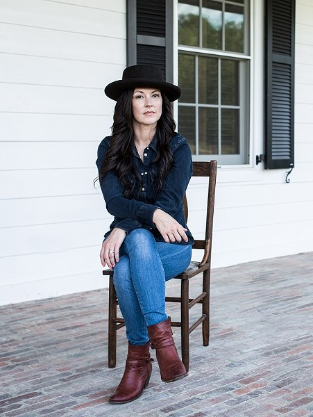 Amanda Shires, an understated boss lady par excellence. - PHOTO CREDIT: JOSH WOOL