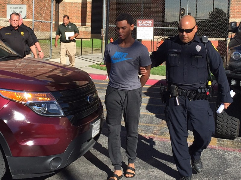 Jai Lynn Jamaal Arnold, an 18-year-old suspect in the murder of Milton Miles. - BEXAR COUNTY SHERIFF'S OFFICE