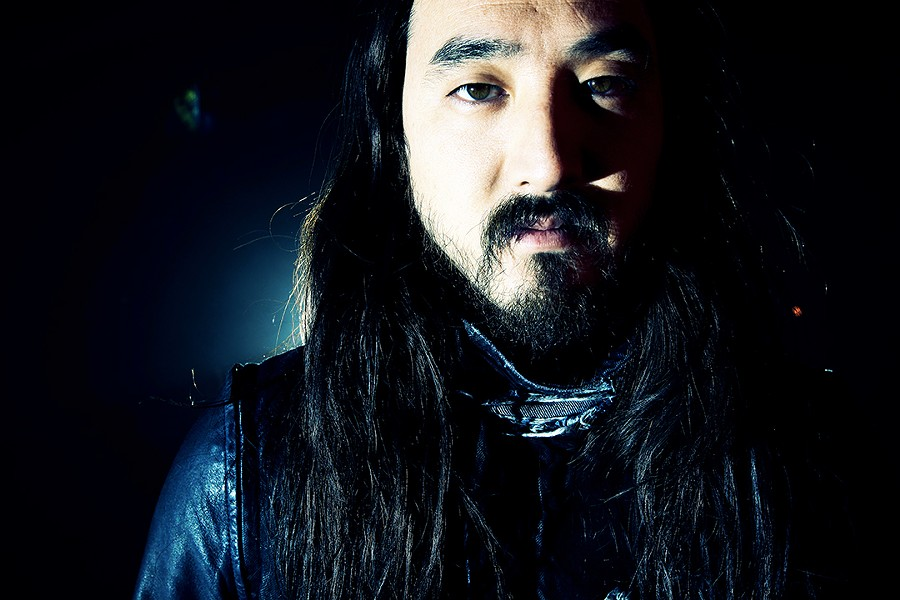 STEVE AOKI PHOTOGRAPHED BY ROBIN LAANANEN