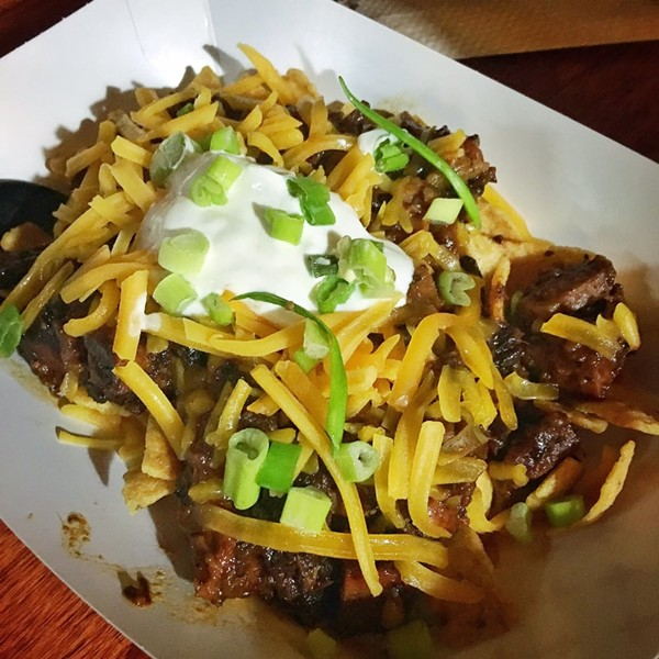 Chopped brisket Frito pie - ERIN W.