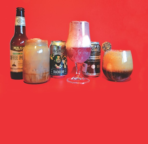 Ditch the pie in favor of a beer float.