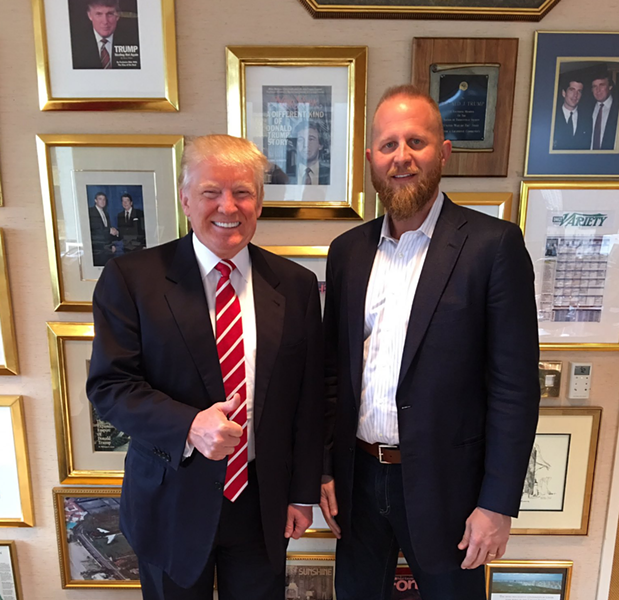 "In a new interview with Bloomberg Businessweek, SA tech entrepreneur Brad Parscale says he's ""like family"" with the Trumps - SCREENSHOT, TWITTER @BRADPARSCALE"