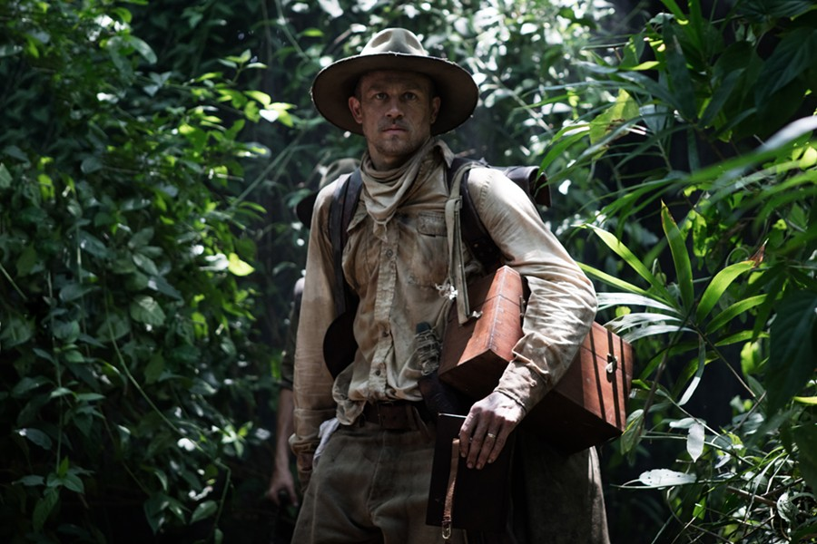 Charlie Hunnam stars as Percy Fawcett in The Lost City of Z - AMAZON STUDIOS / BLEECKER STREET