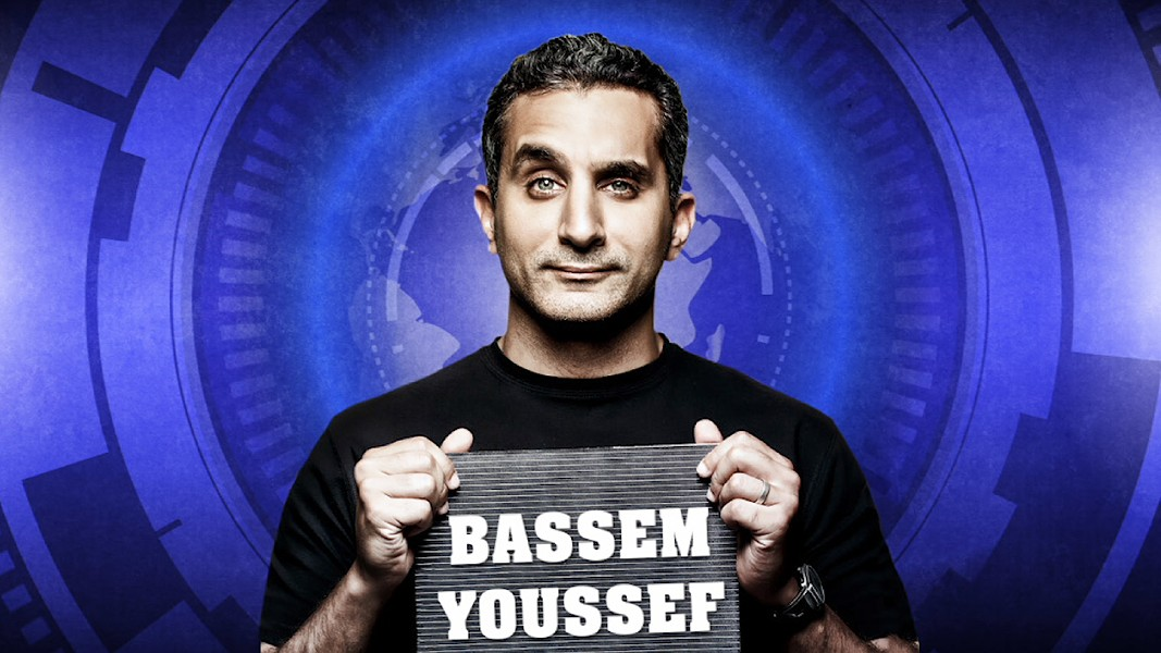 Dr. Bassem Youssef was the host of the most popular TV show in the history of Egyptian TV, Al Bernameg. The story of his rise to fame is documented in the new film Tickling Giants. - COURTESY