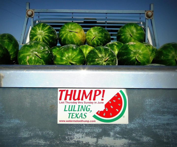 COURTESY OF LULING WATERMELON THUMP