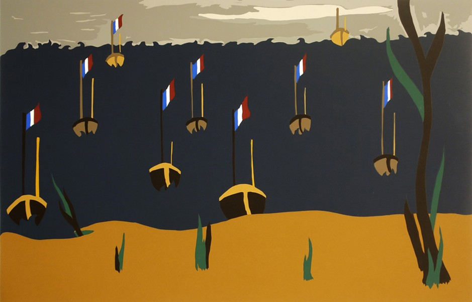 """Flotilla"" - JACOB LAWRENCE"