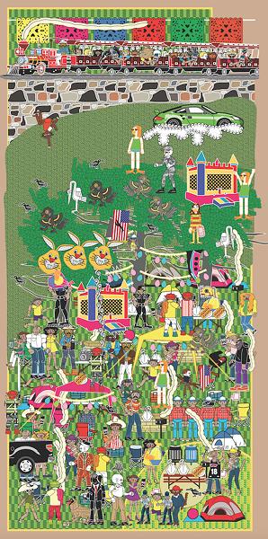 "Michael Menchaca, ""Vignettes from San Antonio"" (Brackenridge Park)"