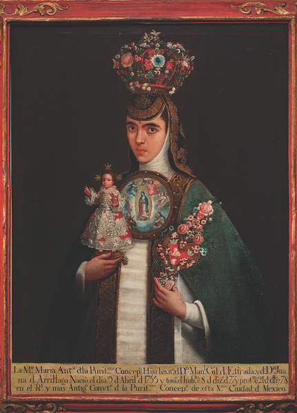 "Artist unknown, New Spain, Sister María Antonia of the Immaculate Conception (""San Antonio 1718: Art from Viceregal Mexico"")"