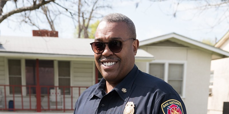 San Antonio Fire Chief Charles Hood