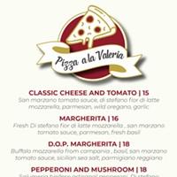 Pizza a la Valeria