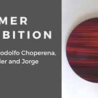 Summer Exhibition: Works by Rodolfo Choperena, Amada Miller and Jorge Villareal