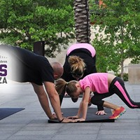 Free Fitness Class on the Plaza with inBalance