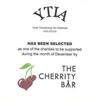 YTIA at Cherrity Bar Month-Long December Fundraiser