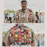 20 People Totally Slaying the Fiesta Medal Game This guy's medal game is good. Like, real good.     Photo via Instagram/gloriaseyesontxpho