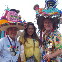 20 People Totally Slaying the Fiesta Medal Game There's no competition here. The guy on the right takes the cake.     Photo via Instagram/anthonyndenise
