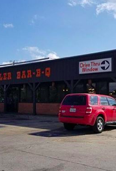 Bill Miller Bar-B-Q Now Serving Chorizo Tacos