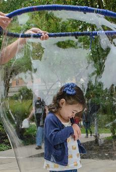 Family-Friendly Bubble Fest Returns to Chris Park